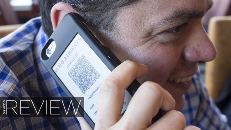 Illustration for article titled PopSlate Lightning Review: This iPhone Case Has An E-Ink Screen in Back