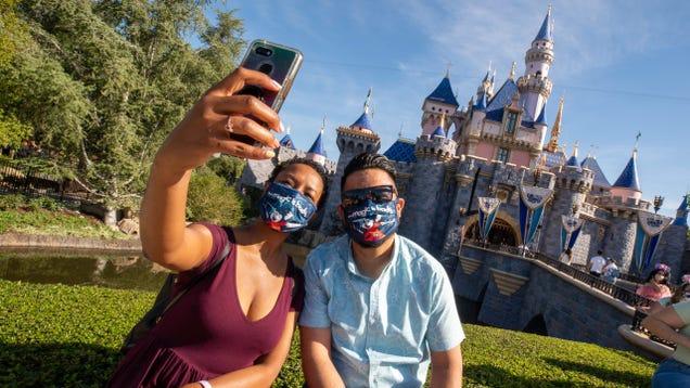 Disney's U.S. Parks Abandon Mask Mandates for the Pinky Swear System