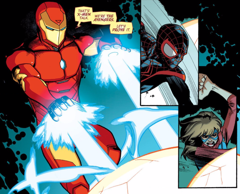 Illustration for article titled Iron Man Just Threw a Little Shade at the X-Men