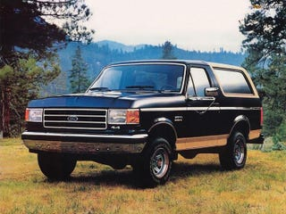 Illustration for article titled Confession: I love the Ford Bronco 3 (Eddie Bauer Edition -🌲🌲🌲)