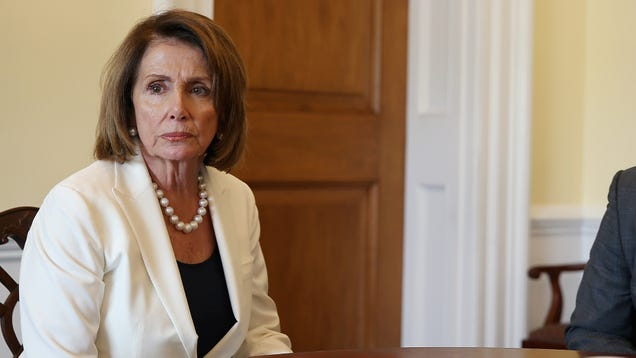 Resistance Democrats Cheer Nancy Pelosi After Viral Photo Surfaces Of Her Sitting Quietly And Deferring To Room Of Corporate Lobbyists