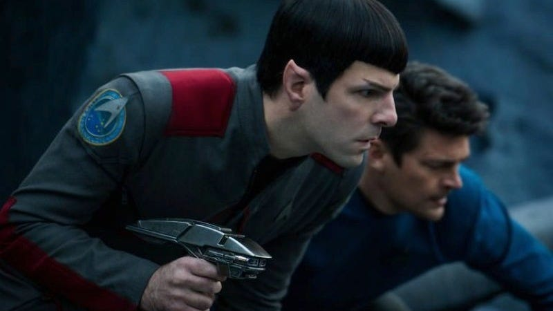 Zachary Quinto as Spock in 2016's Star Trek: Beyond.