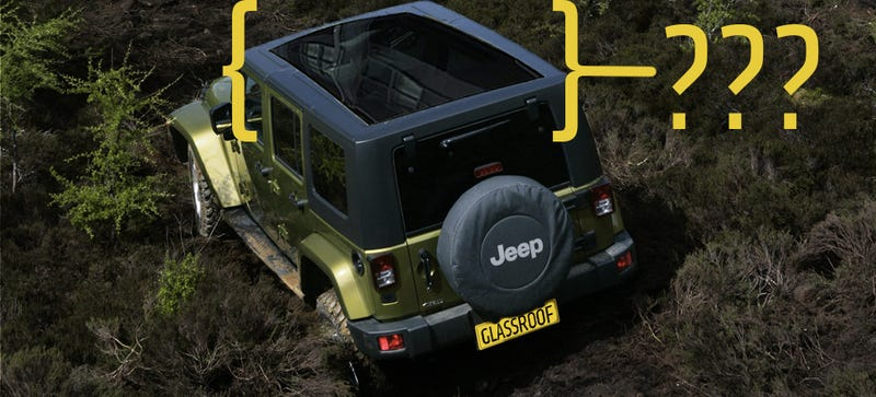 Image rendered by the author with graphics from Jeep. The panoramic sunroof is PhotoShop'd off a Land Rover.