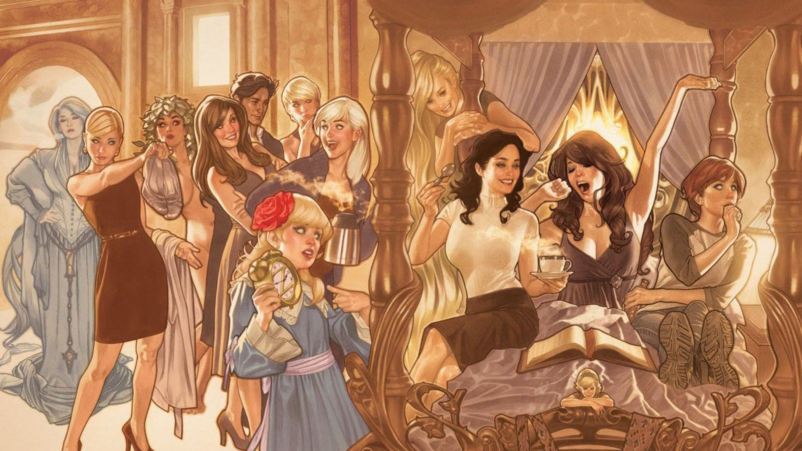 10 fairy tales from which Disney saved us