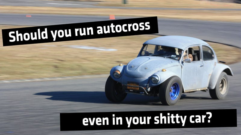 Illustration for article titled Why You Should Run Autocross Even If Your Car Is A Hunk Of Crap
