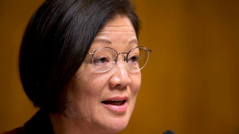 Illustration for article titled Female Senator Points Out Immigration Bill Kinda Screws Women Over