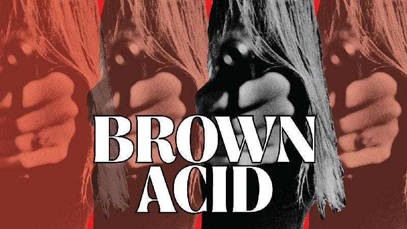 Illustration for article titled Listen to the unearthed goodness of Brown Acid: The First Trip