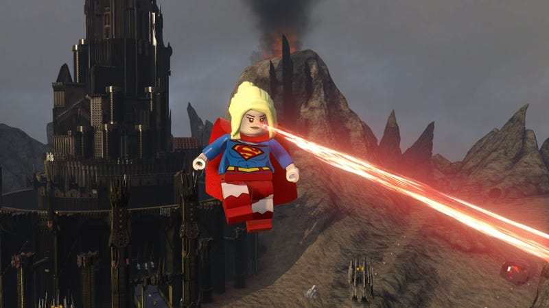 Illustration for article titled Supergirl Added To Lego Dimensions In The Worst Way