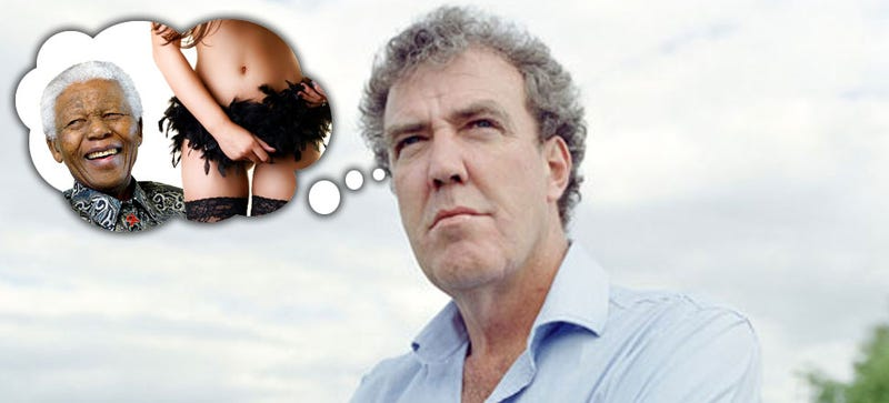 Illustration for article titled Jeremy Clarkson Once Asked Nelson Mandela If He'd Ever Had A Lap Dance