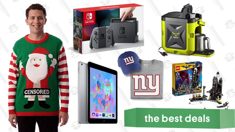 Illustration for article titled Friday's Best Deals: iPad, J.Crew, Nintendo Switch, and More