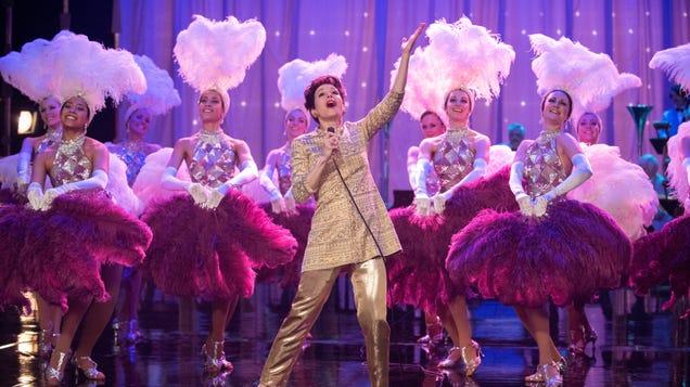 Renée Zellweger zings in a Judy Garland biopic that clangs
