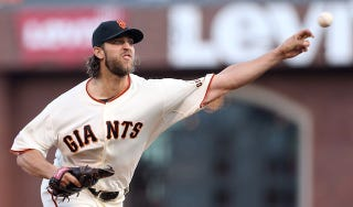 Illustration for article titled Madison Bumgarner's Fastball Is Getting Deadlier