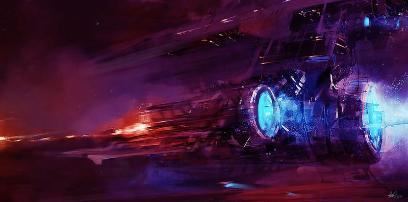 Illustration for article titled Spaceship Concept Art (Gallery 2)