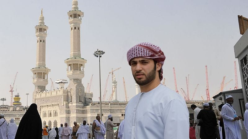 """Marikh says his trip to Mecca was """"fine, but not some incredible experience or anything."""""""