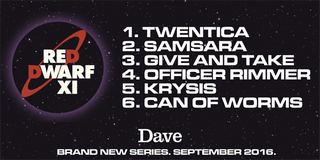 Illustration for article titled Red Dwarf series XI episode titles and synopsis revealed