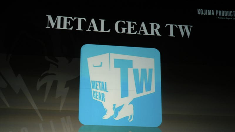Illustration for article titled Introducing Metal Gear...Twitter?