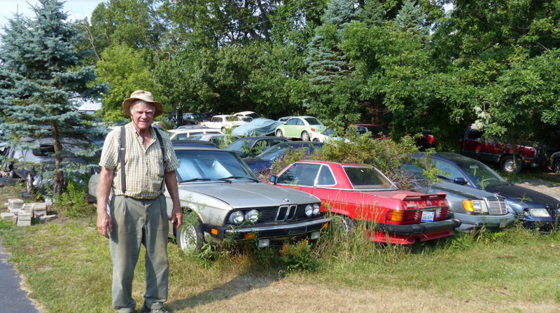 Illustration for article titled A Michigan Town Is Forcing This Man To Sell 20 Old Cars Off His Property Every Month