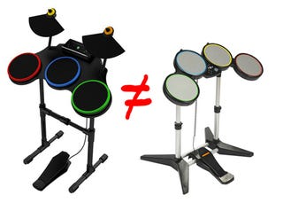 Illustration for article titled PS3 Guitar Hero Drums Aren't Working in Rock Band
