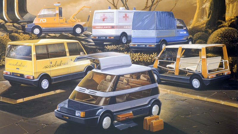 Illustration for article titled The Modular Car Of My Dreams Was Made Back In 1982