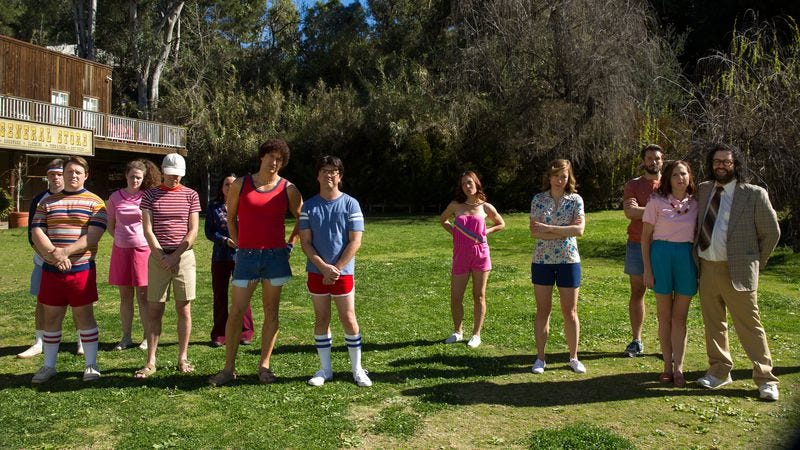 The cast of WHAS: First Day Of Camp