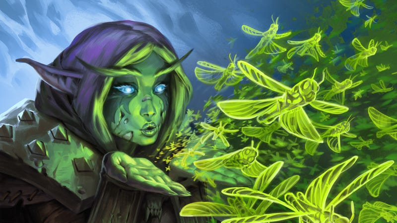 Illustration for article titled Hearthstone's All-Powerful Druid Class Is Finally GettingNerfed