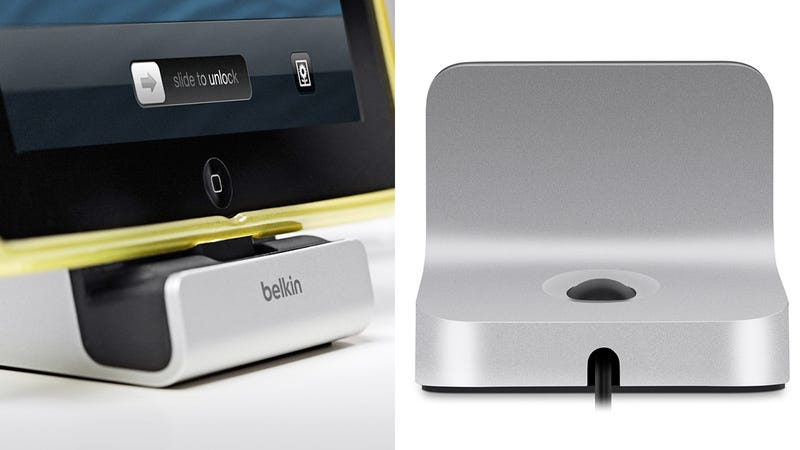 Illustration for article titled This Lightning Dock Lets You Dial in a Perfect Fit For iPads in Cases