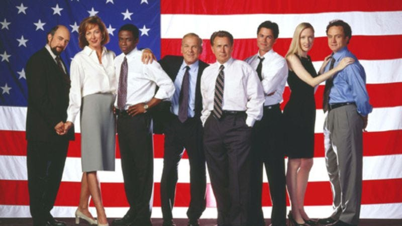 """Illustration for article titled The West Wing: """"Post Hoc, Ergo Propter Hoc""""/""""A Proportional Response"""""""