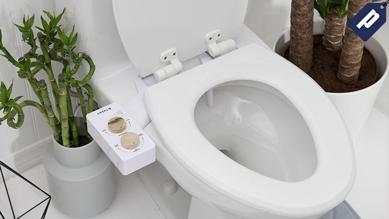 Illustration for article titled Keep It Clean & Upgrade Your Toilet With A Sleek Bidet From Tushy (Up To 20% Off)
