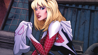 Illustration for article titled Gwen Stacy takes on the mantle of Spider-Woman in this new One Shot