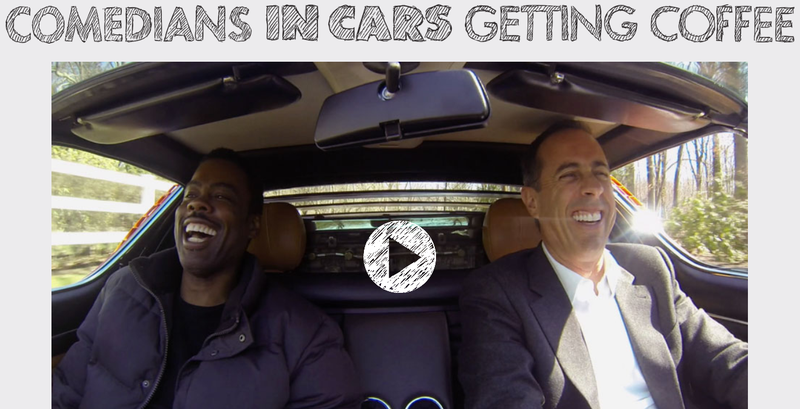 Illustration for article titled Jerry Seinfeld's Comedians In Cars Getting Coffee Is Up For Grabs