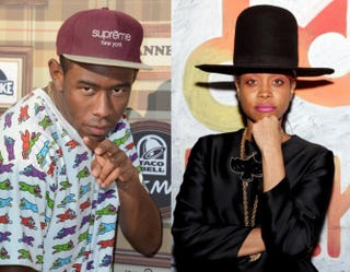 Tyler, the Creator and Erykah BaduFrazer Harrison/Getty Images;Rick Kern/Getty Images for Samsung