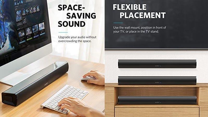 Anker SoundCore Infini Mini Sound Bar | $70 | Amazon | Clip the $10 coupon