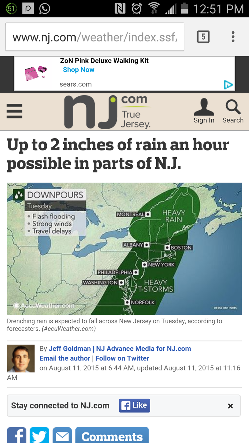 Illustration for article titled Did you catch the NYC area weather map? You should catch the NYC weather map!