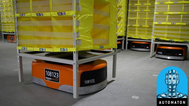 The Biggest Sign Yet That Automation Is Taking Over at Amazon