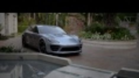 Were going to see the porsche panamera sport turismo wagon very the porsche panamera sport turismo concept is hybrid electric shooting brake sex sciox Image collections