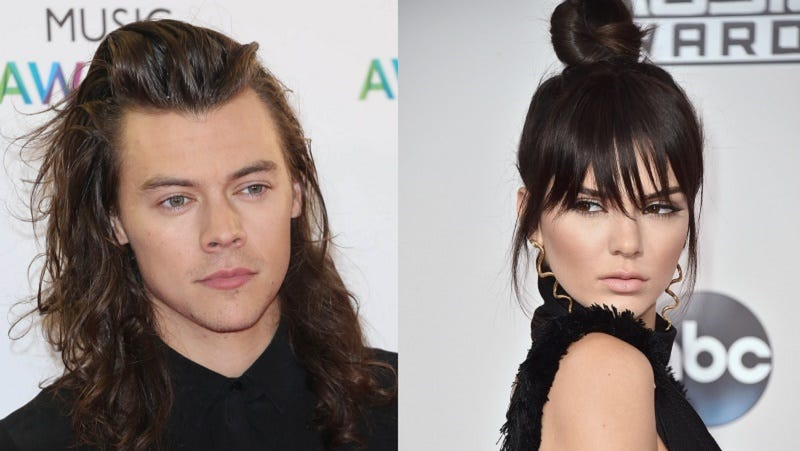 Illustration for article titled Kendall Jenner and Harry Styles Were Kissing on a Yacht