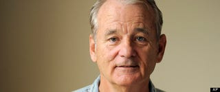 Illustration for article titled Bill Murray Talks Vodka, Red Sox And Making Men Weep