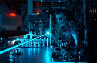 Illustration for article titled Dark Lasers Fire Dark Pulses of Light, Presumably For EVIL