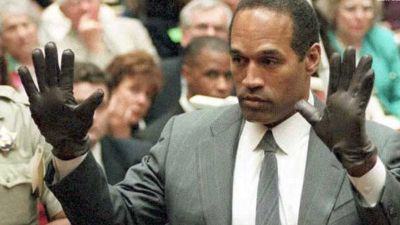 Illustration for article titled American Horror Story getting true crime companion series about O.J. Simpson