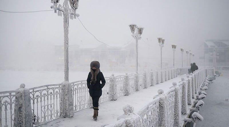 Illustration for article titled Bienvenidos a Oymyakon y Verkhoyansk, los lugares habitados más fríos del planeta