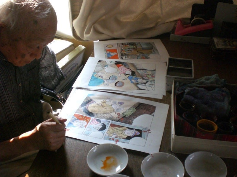 Illustration for article titled Beloved Manga Artist Shigeru Mizuki Has Died