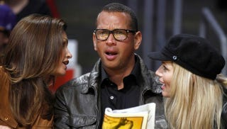 Illustration for article titled Here's Hipster A-Rod, Cindy Crawford, And Torrie Wilson In A Photo Capturing The Moment America Collapsed In On Itself