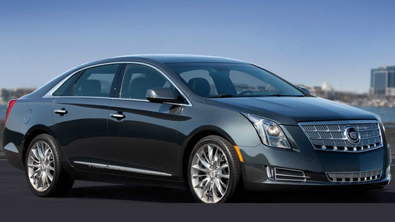 Illustration for article titled Cadillac XTS: This is it!