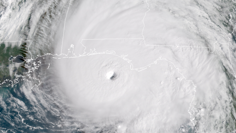 Hurricane Michael, which underwent rapid intensification.
