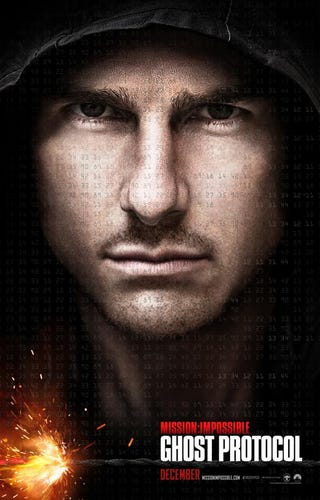 Illustration for article titled Mission: Impossible Ghost Protocol teaser poster