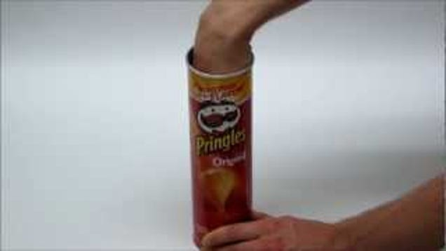 This Guy Created An Awesome Pringles Can That Actually
