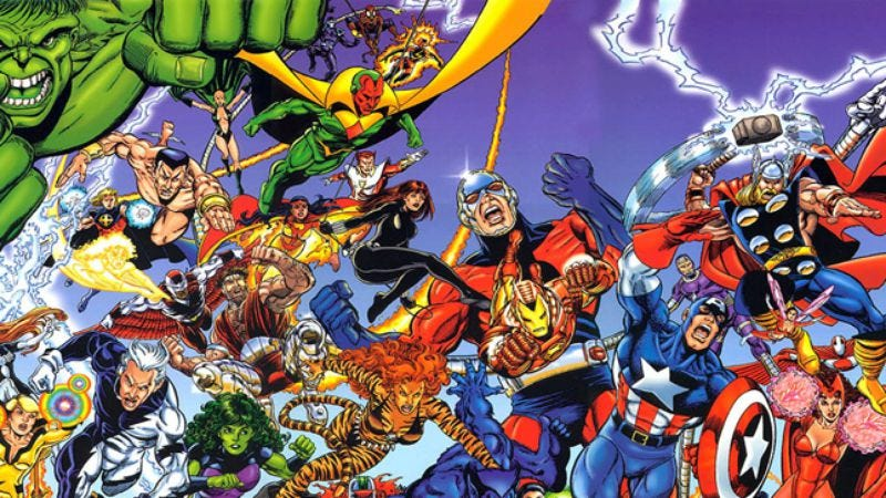 Illustration for article titled Love the Avengers movie? Here's where to start reading the comics