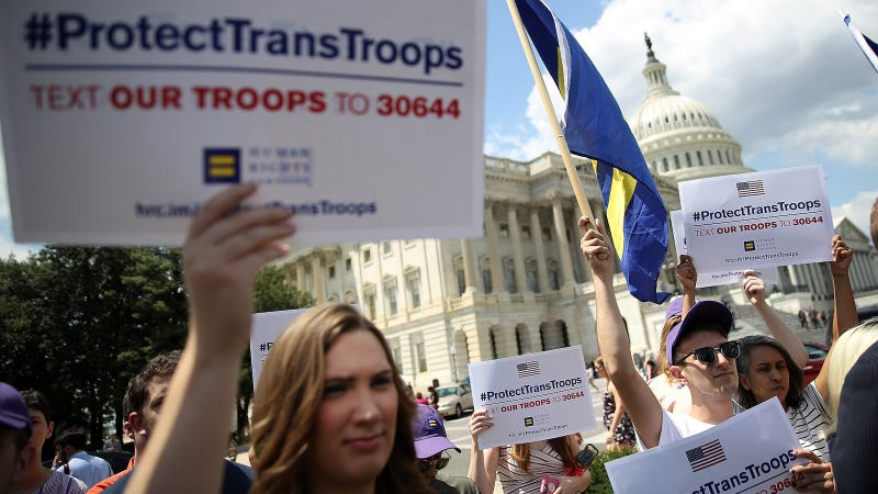 Court Rejects Trump Transgender Military Ban