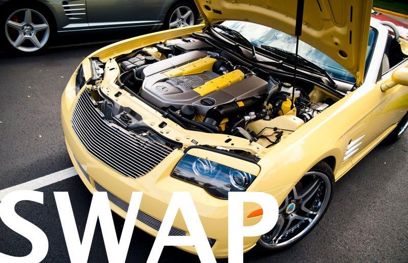 Illustration for article titled Chrysler Crossfire + 55 Kompressor = Krosspressor
