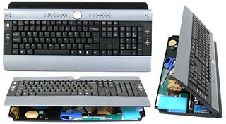 Illustration for article titled myKeyO Keyboard Organizer: Updated Unit is Backlit, Wireless